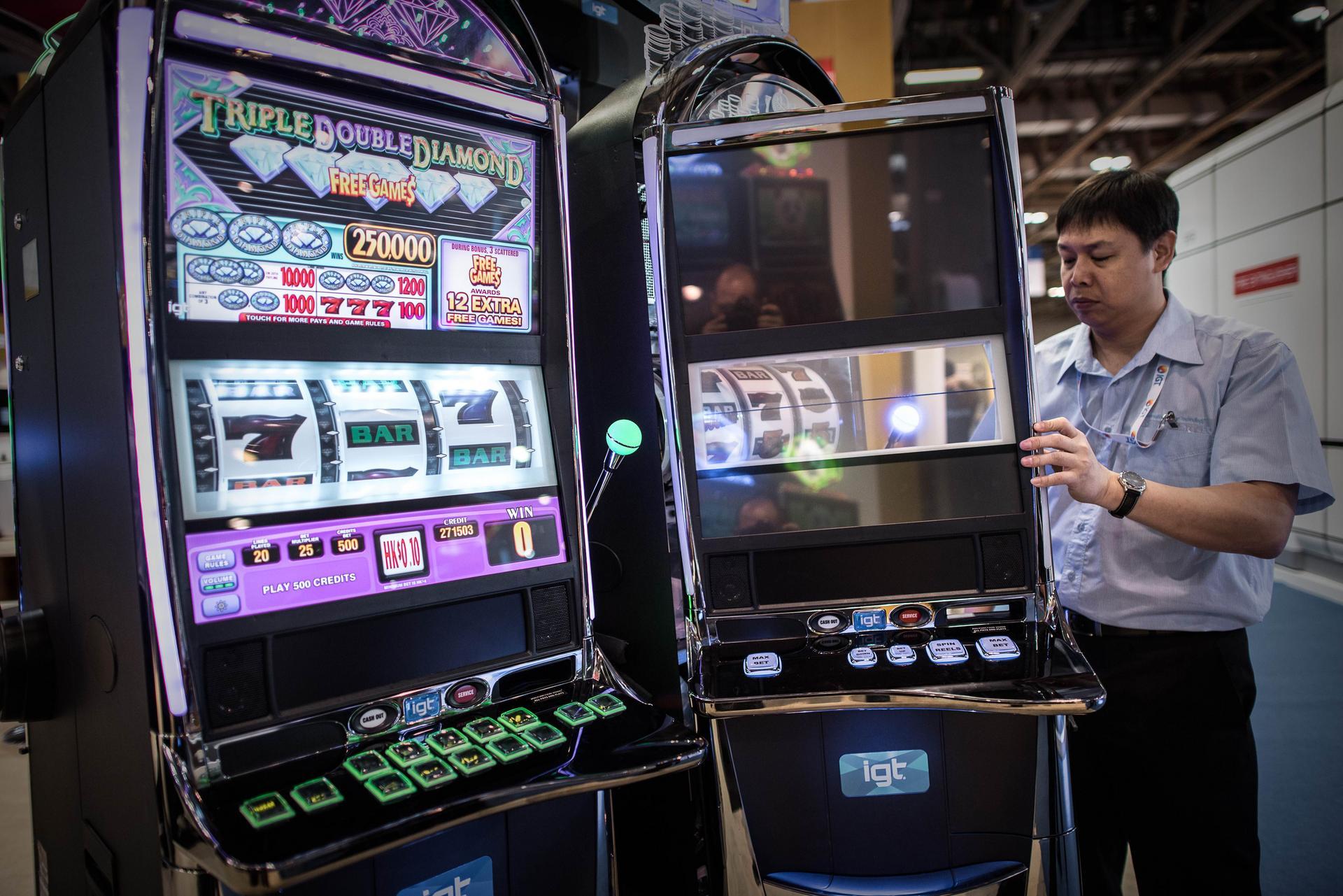 casino slot inside