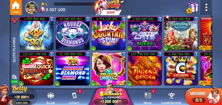 Top 5 Always Paying Casino Games for Android