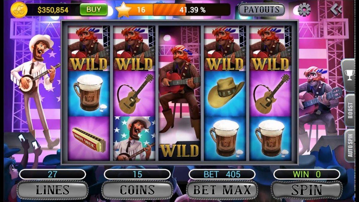 rock hero slots gameplay